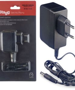 STAGG 9V 1A DC ADAPTER REV POLARITY
