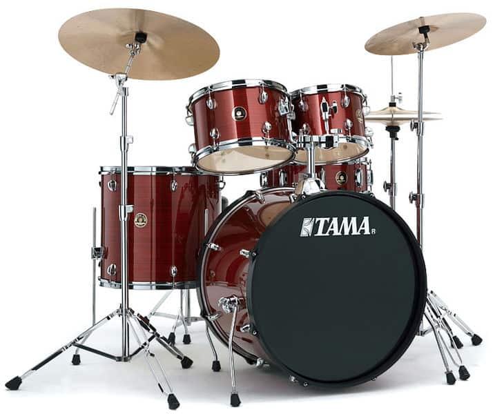 TAMA RHYTHM MATE STUDIO DRUMSET RED STEAM, Trummid/Akustilised trummid