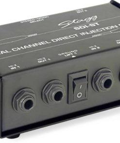 STAGG SDIST 2-CHANNEL PASSIVE DI BOX