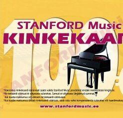 STANFORD MUSIC 100€ KINKEKAART
