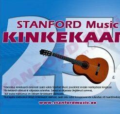 STANFORD MUSIC 25€ KINKEKAART