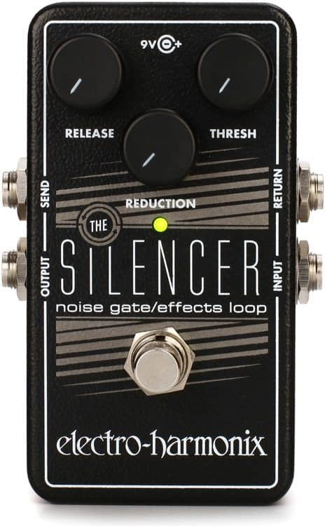 Electro-Harmonix The Silencer Noise Gate Built-In Effects Loop Guitar Pedal