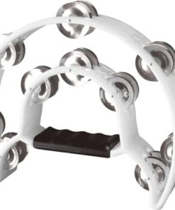 STAGG TAB1WH TAMBOURINE WITH 20 JINGLES