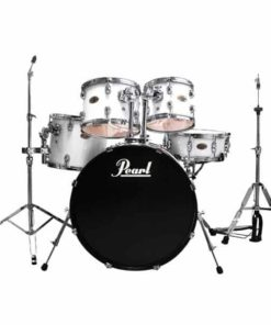 PEARL TARGET 5-PC DRUM SET PURE WHITE