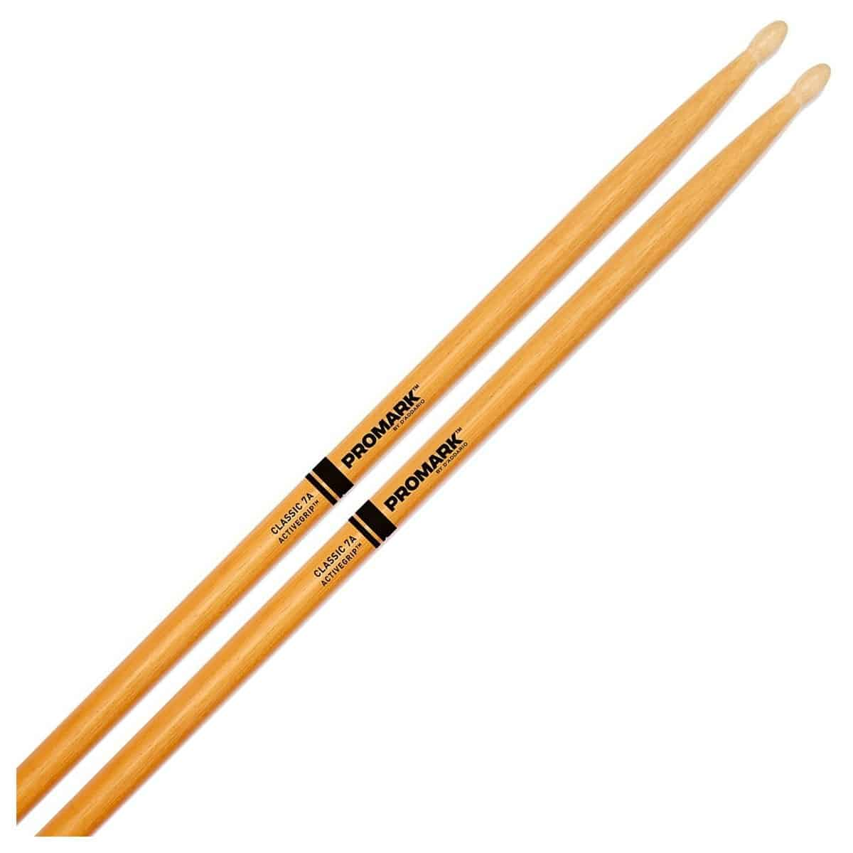 Promark American Hickory 7A The Natural Drum Sticks