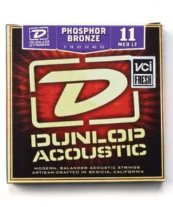 DUNLOP AG PH.BRONZE MEDIUM LIGHT SET