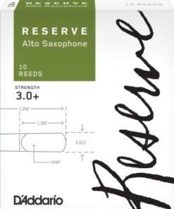 DADDARIO RESERVE CLASSIC ALT0 SAX 3 PLUS 10-PACK