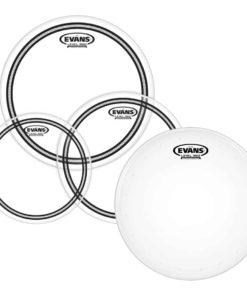 EVANS EC2S CLEAR FUSION PACK + 14HD DRY SNARE BATTER