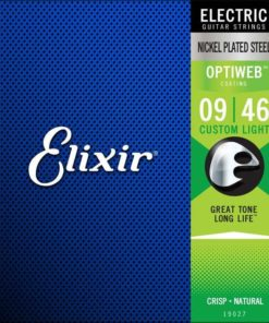 ELIXIR ELECTRIC OPTIWEB COATED 09-46
