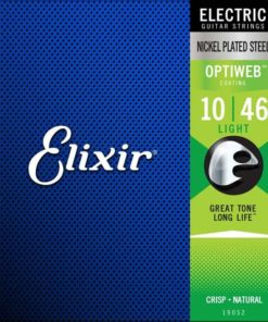 ELIXIR ELECTRIC OPTIWEB COATED 10-46