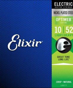 ELIXIR ELECTRIC OPTIWEB COATED 10-52