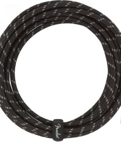 FENDER DELUXE SERIES INSTRUMENT CABLE BLACK TWEED 5