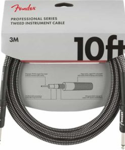 FENDER PROFFESSIONAL SERIES INSTRUMENT CABLE GRAY TWEED 10