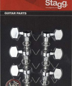 STAGG ELECTRIC GUITAR MACHINE HEADS CHROME