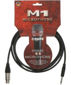 KLOTZ M1 MIC CABLE 5M XLR 3 FEM. - JACK