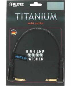 KLOTZ TITANIUM PEDAL PATCHER 0.6m