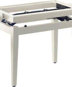 STAGG PB39 WHITE MATTE PIANO BENCH